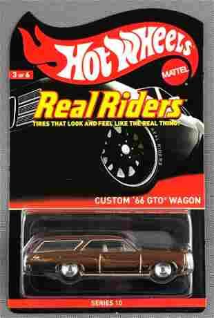 Hot Wheels Real Riders Series 10 Cuatom 66 GTO Wagon