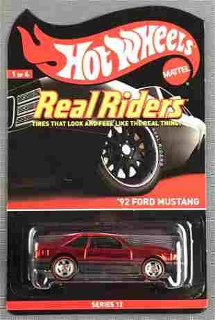 Hot Wheels Real Riders Series 12 82 Ford Mustang