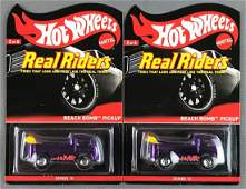 Group of 2 Hot Wheels Real Riders Series 10 Beach Bomb