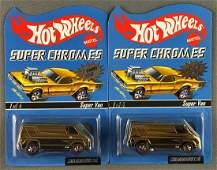 Group of 2 Hot Wheels Super Chromes RLC Rewards Series