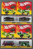 Group of 4 Hot Wheels Neo-Classics Series 6 and 8