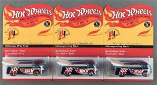 Group of 3 Hot Wheels Red Line Club Volkswagen Drag