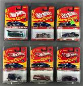 Group of 6 Hot Wheels Classics Series 2 and 5