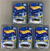 Group of 5 Hot Wheels 2001 Treasure Hunt Series Roger
