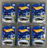 Group of 6 Hot Wheels 2001 Treasure Hunt Series Roger