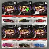 Group of 6 Hot Wheels Larrys Garage