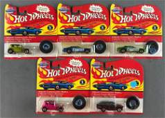 Group of 5 Hot Wheels Vintage Collection