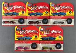 Group of 5 Hot Wheels Twin Mill