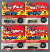 Group of 4 Hot Wheels Beatnik Bandit and Silhouette