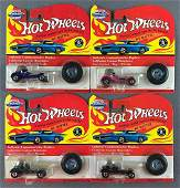 Group of 4 Hot Wheels Vintage Collection Red Baron