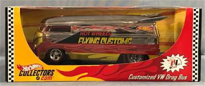 Hot Wheels Red Line Club Customized VW Drag Bus