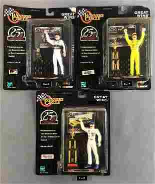 Group of 3 Winners Circle Dale Earnhardt Great Wins