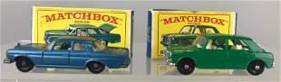 Group of 2 Matchbox die-cast vehicles
