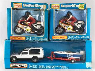 Group of 3 Matchbox SuperKings die-cast vehicles