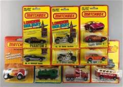 Group of 10 assorted Matchbox die-cast vehicles