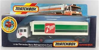 Matchbox SuperKings No. K-124 die-cast tractor-trailer