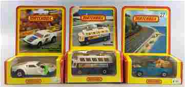 Group of 3 German Market Matchbox die-cast vehicles