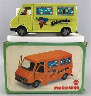 Italian Market Mattel Mebetoys No. 8586 Fiat 242