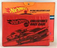 Group of 2 vintage Hot Wheels collectors cases