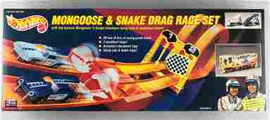 Hot Wheels Mongoose & Snake Drag Race Set