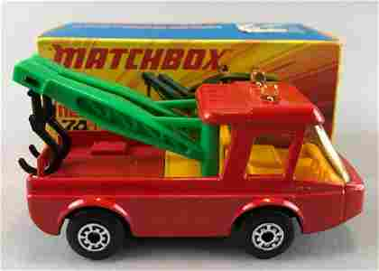 Rare Matchbox Superfast No. 74 Toe Joe die-cast vehicle