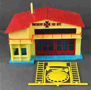 TootsieToy Fire Department and accessories