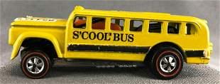 Hot Wheels Redline Scool Bus die-cast vehicle