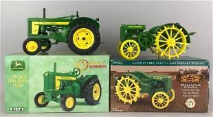 2 Ertl John Deere die-cast Tractors