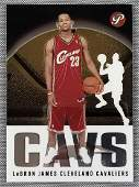 2003 Topps Lebron James rookie card #101