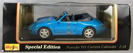 Maisto Special Edition Porsche 911 Carrera Cabriolet
