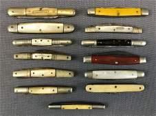 Group of 13 : Vintage Pocket Knives