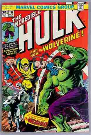 Marvel Comics The Incredible Hulk No. 181 Comic Book