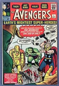 Marvel Comics The Avengers No. 1 Comic Book