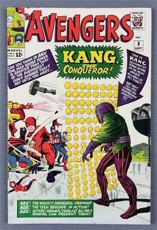Marvel Comics The Avengers No. 8 Comic Book