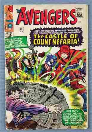 Marvel Comics The Avengers No. 13 comic book
