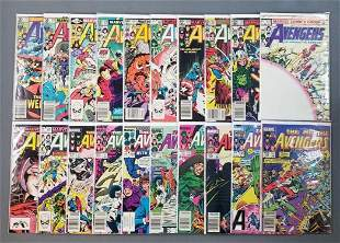 Group of 20 Marvel Comics The Mighty Avengers comic
