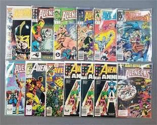 Group of 13 Marvel Comics The Avengers