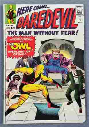 Marvel Comics Daredevil No. 3 comic book