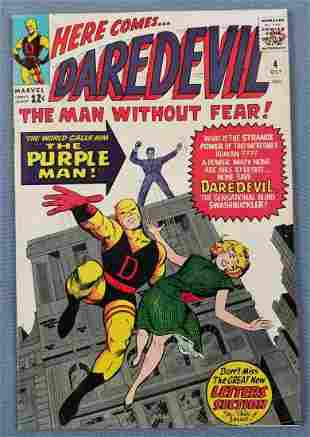 Marvel Comics No. 4 Daredevil comic book