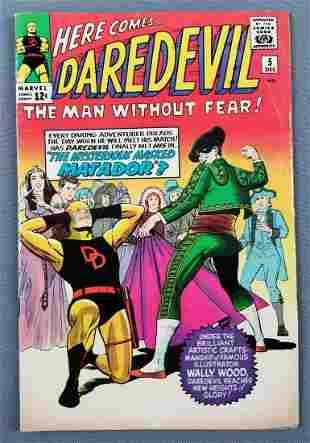 Marvel Comics Daredevil No. 5 comic book
