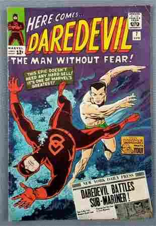Marvel Comics Daredevil No. 7 comic book
