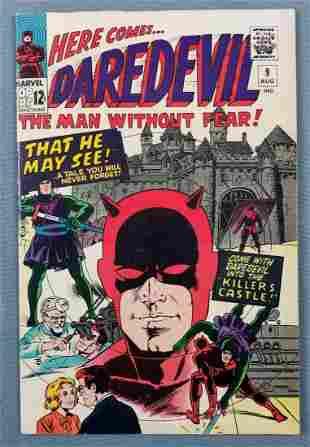 Marvel Comics Daredevil No. 9 comic book