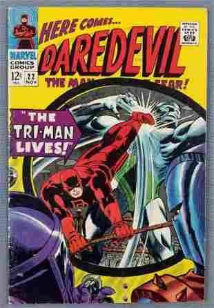 Marvel Comics Daredevil No. 22 comic book