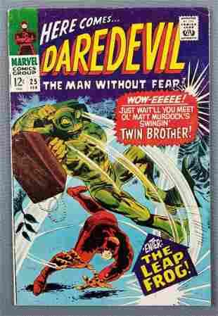 Marvel Comics Daredevil No. 25 comic book