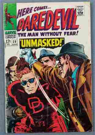 Marvel Comics Daredevil No. 29 comic book