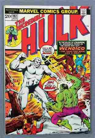 Marvel Comics The Incredible Hulk No. 162 comic book