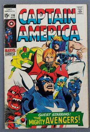 Marvel Comics Captain America No. 116 comic book