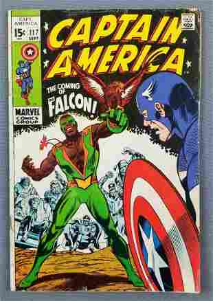 Marvel Comics Captain America No. 117 comic book