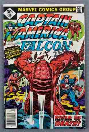 Marvel Comics Captain America and The Falcon No. 208