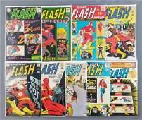 Group of 9 DC Comics The Flash comic books